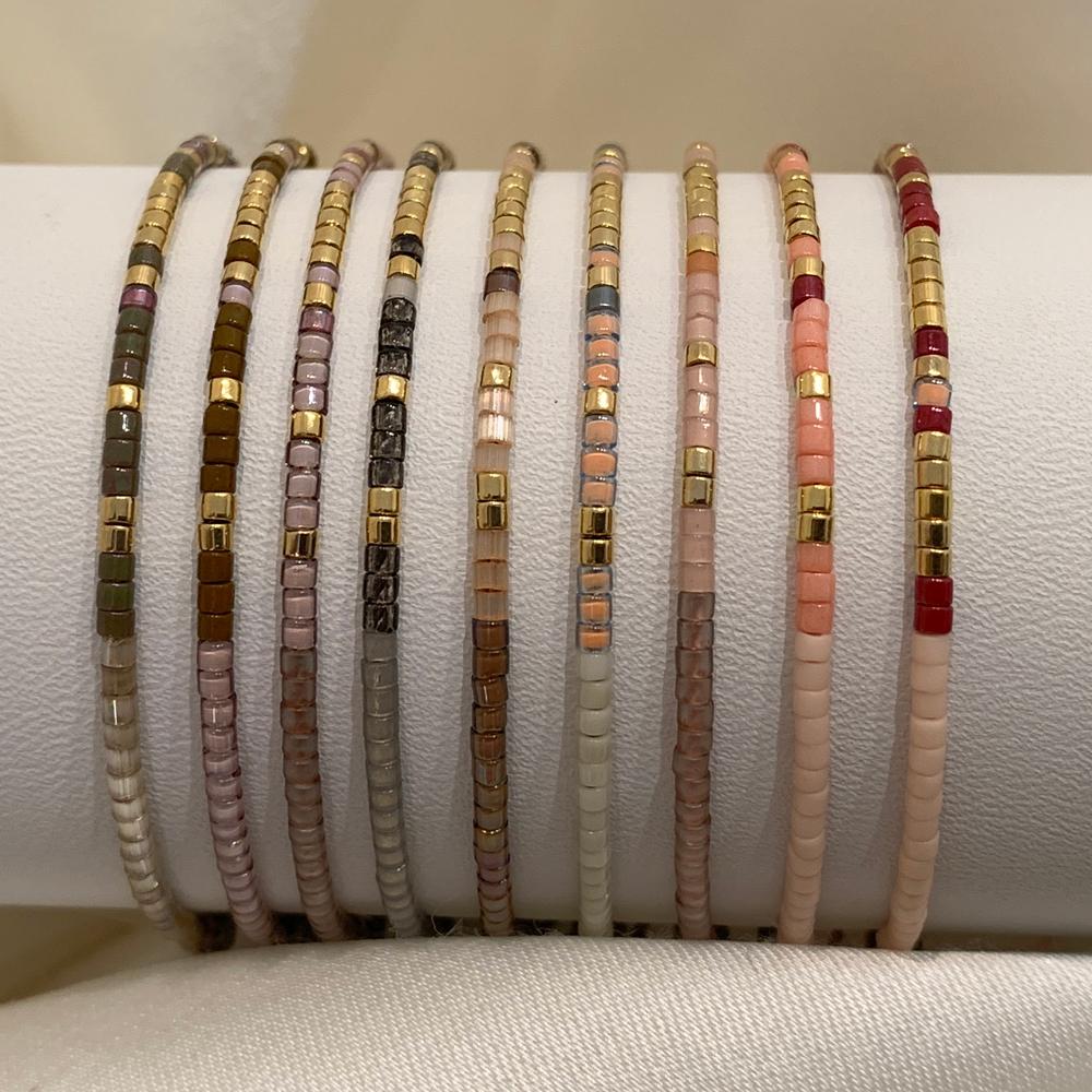 Bracelet Morse code colors